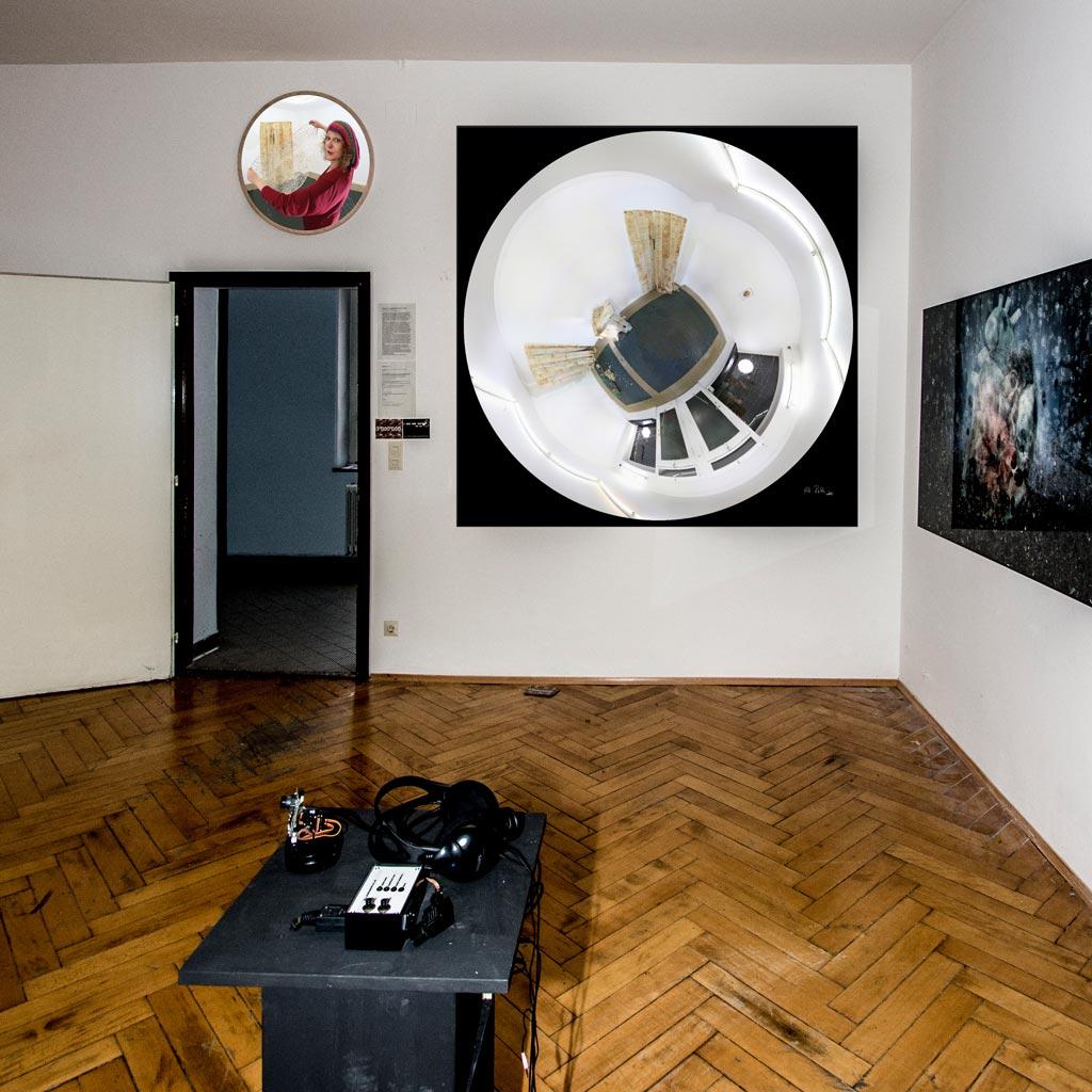 Kooperation mit Renate Schweizer bei der Kunstausstellung in der Kaiserallee